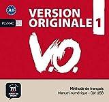 Version Originale 1: Mthode de franais. Manuel numrique - Cl USB