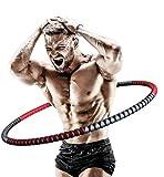 Hula Hoop Reifen Erwachsene zur Gewichtsreduktion Fitness 1 kg-4 kg Einstellbar Gewicht Fitnesskreis...