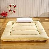 JYAcloth Schlafen Tatami Bodenmatte,verdicken Japanischen Futon,Bett Matratze,atmungsaktiv...