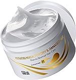 Vitamins Haarmaske Keratin Haarkur Treatment - Argan Öl Keratin Hair Mask Deep Conditioner -...