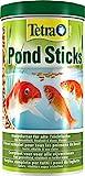Tetra Pond Sticks - Fischfutter für Teichfische, für gesunde Fische und klares Wasser,...