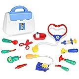 Vortäuschen Sie spielen Spielzeug, 13 Stück Arzt Rollenspiel Spielzeug Set, Arzt Krankenschwester...