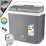 KESSER® 32 Liter Kühlbox | KÜHLT und WÄRMT | Thermo-Elektrische Kühlbox 12 Volt und 230 Volt |...