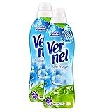 Vernel Frischer Morgen Waschmittel, Weichspüler (66 (2 x 33) Waschladungen)