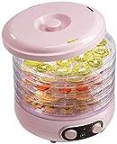 ZYLBDNB Countertop tragbare elektrische Nahrungsmittelfrucht Dörrautomaten mit justierbarem...