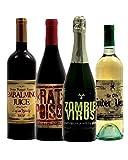 Horror-Shop Halloween Flaschen Etiketten zum Aufkleben als Gruseldeko 8 St.