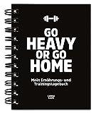 Trainingstagebuch & Ernhrungstagebuch fr Krafttraining, Fitness-Studio, Home Workout, Bodybuilding,...