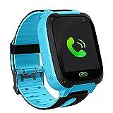 LDB Kinder Smartwatch, Phone Smart Watch Tracker Telefon LBS Micro Chat SOS Alarm Gegen Verlorene...