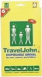 Travel John Einweg-Urinal–erhältlich für Herren, Damen und Kinder