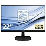 Philips 223V5LHSB2/00 54,6 cm (21,5 Zoll) Monitor (VGA, HDMI, TN Panel, 1920 x 1080, ohne...