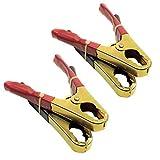Starthilfekabel / Booster Pack Ersatzklemmen / Clip Krokodil Grip 2 Paar TE17