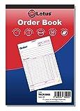 TNCR-8005 Orderbuch, dreifach, NCR, A5 (143 x 210 mm), 3-teilig, kohlefrei A5 (143 x 210) Blau und...