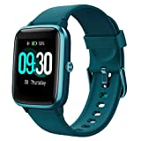 Willful Smartwatch,1.3 Zoll Touch-Farbdisplay Fitness Armbanduhr mit Pulsuhr Fitness Tracker IP68...