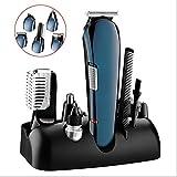 Fall Haarschneidemaschine, Multifunktions wiederaufladbare Haartrimmer Akku-Haarschneidemaschine...