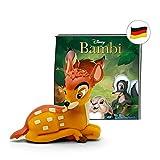 tonies Hrfiguren fr Toniebox: Disney Hrspiel Bambi Figur - ca 50 Min. Spieldauer - ab 4 Jahre -...
