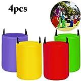 Hüpfsäcke für Kinder, Joyibay 4 Stück Sackhüpfen Outdoor Spielset für Partys und Sportfeste,...