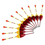 GUO Angelposen 10 Stück 4,5 G Angeln Gesetzt Karpfenboje Kit Angelgerät Angelzubehör
