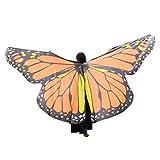 YBWZH Karneval Kostüm Damen Schmetterlingsflügel Fasching Kostüme Zubehör Schmetterling Flügel...
