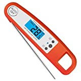 QIYUE Kche-Thermometer mit Potable Spatula Stirrer Digitale Kochen for Schokolade, Sauce, Marmelade,...