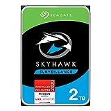 SeagateSkyHawk, interne Festplatte 2 TB HDD, Videoaufnahme bis zu 64 Kameras, 3.5 Zoll, 64 MB...