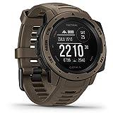Garmin Instinct Tactical  sehr robuste Outdoor-Smartwatch mit taktischen Funktionen,...