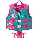 Zeraty Kinder Schwimmweste Schwimmen Jacke für Kleinkinder mit Einstellbare Sicherheits Straps...