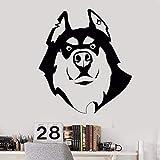 yaonuli Pet Shop Vinyl wandtattoo Hund Husky Freund wandaufkleber pet Shop Dekoration entfernbare...