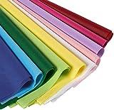 Seidenpapier von Juvale (120 Blatt) - Verschiedene Farben - Ideal für Geschenktüten,...