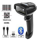 NT-1228BL Bluetooth QR 2D Barcode Scanner Handheld USB kabelloser 1D 2D Barcodes Imager für mobile...