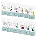 PFLÜGER Schüßler Salze Set Nr. 1-12 je 400 Tabletten - Basispaket für Ihre Hausapotheke -...