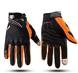 Bruce Dillon Motorcycle Gloves Men's Waterproof and Windproof Winter Motorcycle Gloves Motorcycle...