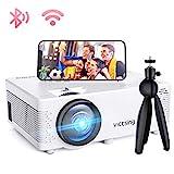 Mini Beamer, VicTsing WiFi Beamer Full HD 4000 Lumen Bluetooth LED Projektor, 1080P HD 170 ''...