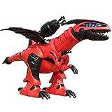 RCTOY Kinder intelligente Fernbedienung Roboter-Dinosaurier-Modell, Tanzen Gehen Singen elektrische...