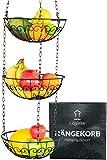 Chefarone Obstkorb zum Aufhängen - 130cm Küchenampel für mehr Platz auf Ihrer Arbeitsplatte -...