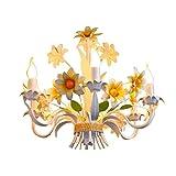 CHOUCHOU Wandlicht Lampe Wand-Licht/Beleuchtung Eisen Kronleuchter Candle Lighting Pastoral...