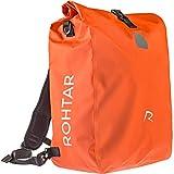Rohtar 3in1 Fahrradtasche - wasserdicht & reflektierend - als Gepäckträgertasche, Umhängetasche &...