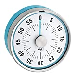 TFA Dostmann Puck Küchentimer, Eieruhr magnetisch, Timer, mit Restzeit-Anzeige, 0-60 Minuten,...