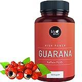 Guarana Kapseln Koffein PLUS - Kraftvoll & Effektiv - High Power Energizer gegen Müdigkeit -...