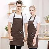 WQWQ Halter Apron Male Chef Restaurant Restaurant Cafe Work Apron Waiter Female Kitchen Full Body...