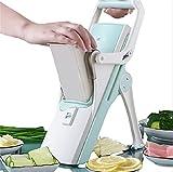 Gemüseschneider Obstschneider 5-in-1 Küchenzubehör für Zwiebel-Zitronen Tomaten gefrorenes...