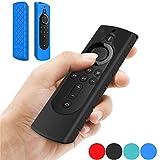 MeterMall Schutzhülle für Amazon Fire TV Stick 4K TV Stick Fernbedienung Silikon Schutzhülle...