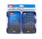 Hilka 49800015 PCE Masonry Drill Bit Steinbohrer-Set, 15-teilig