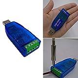 USB auf RS485 RS422 Konverter mit FTDI FT232 Chip kompatibel mit Windows 10, 8, 7, XP und Mac OS X