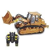 WXMJ Ferngesteuerte Baufahrzeuge, 5 Kanal Ferngesteuert Radlader, 1:12 Bagger Spielzeug...
