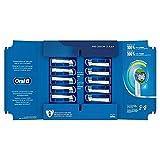 Oral-B Precision Clean Aufsteckbürsten mit CleanMaximiser-Borsten für eine optimale Reinigung, in...