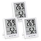 Sonomo Thermo-Hygrometer, 3er Set Hygrometer Innen Thermometer Digital Raumthermometer...