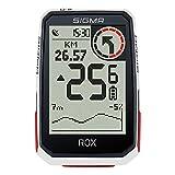 SIGMA SPORT ROX 4.0 White| Fahrradcomputer kabellos GPS & Navigation inkl. GPS Halterung | Outdoor...