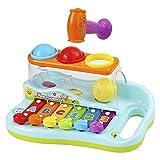Ucradle Xylophon fr Kinder 1 Jahr, ideales Lernspielzeug fr die frhe Erziehung des Babys, mit 3...