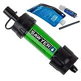 Sawyer MINI PointONE Wasserfilter für Outdoor Camping Wasseraufbereitung (SP101 Grün)