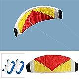 XJLJ Kites Lenkdrachen Parachute Sail/Surfing Beach Nylongewebe Kites (Color : Multi-Colored, Size :...